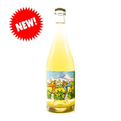 """Immagine di Vino bianco frizzante col fondo """"Esprit Fou""""- Ermes Pavese"""