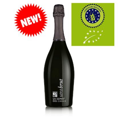 """Immagine di IGP Lazio Chardonnay Spumante Brut """"Sara""""- La Luna del Casale"""